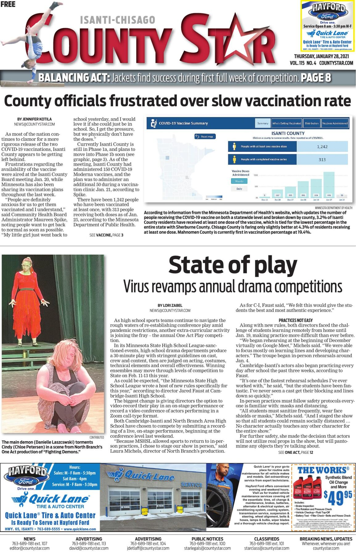 Isanti-Chisago County Star January 28, 2021 e-edition