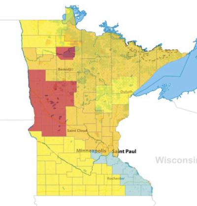High-to-extreme fire danger across Minnesota this weekend