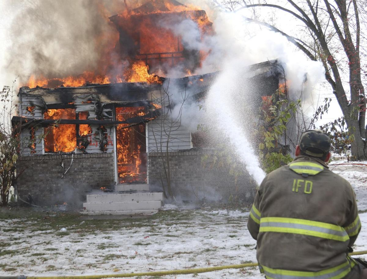 Two city-owned houses utilized for practice fires