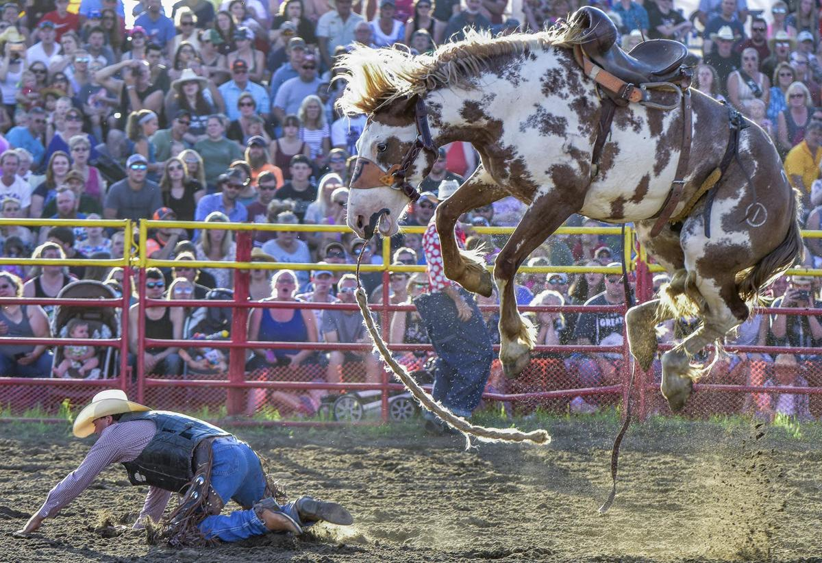 Isanti rodeo action once again thrills capacity crowds