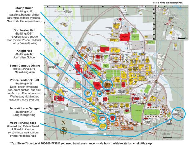 University of Maryland  College Park Map  International Society