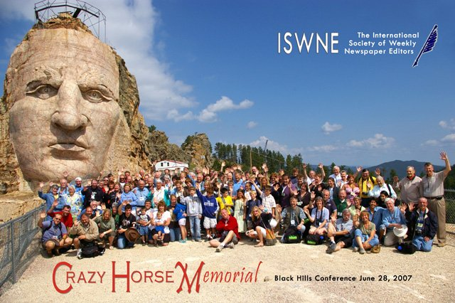 Group shot at Crazy Horse