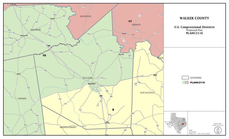 Big changes for Walker County in redistricting process