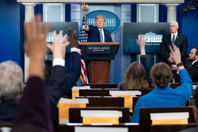 Trump covid press conference