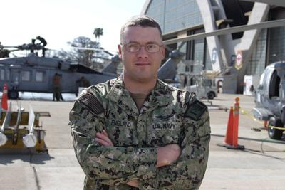 Livingston native serves with helicopter squadron in San Diego
