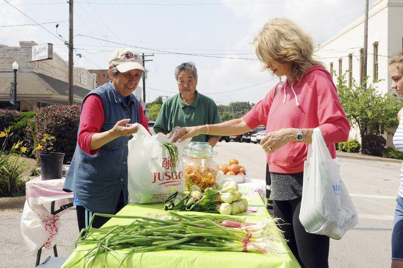 Downtown farmers market to return May 23