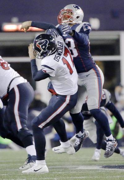 10ef2ebf482 Patriots pull away to beat Texans   Sports   itemonline.com