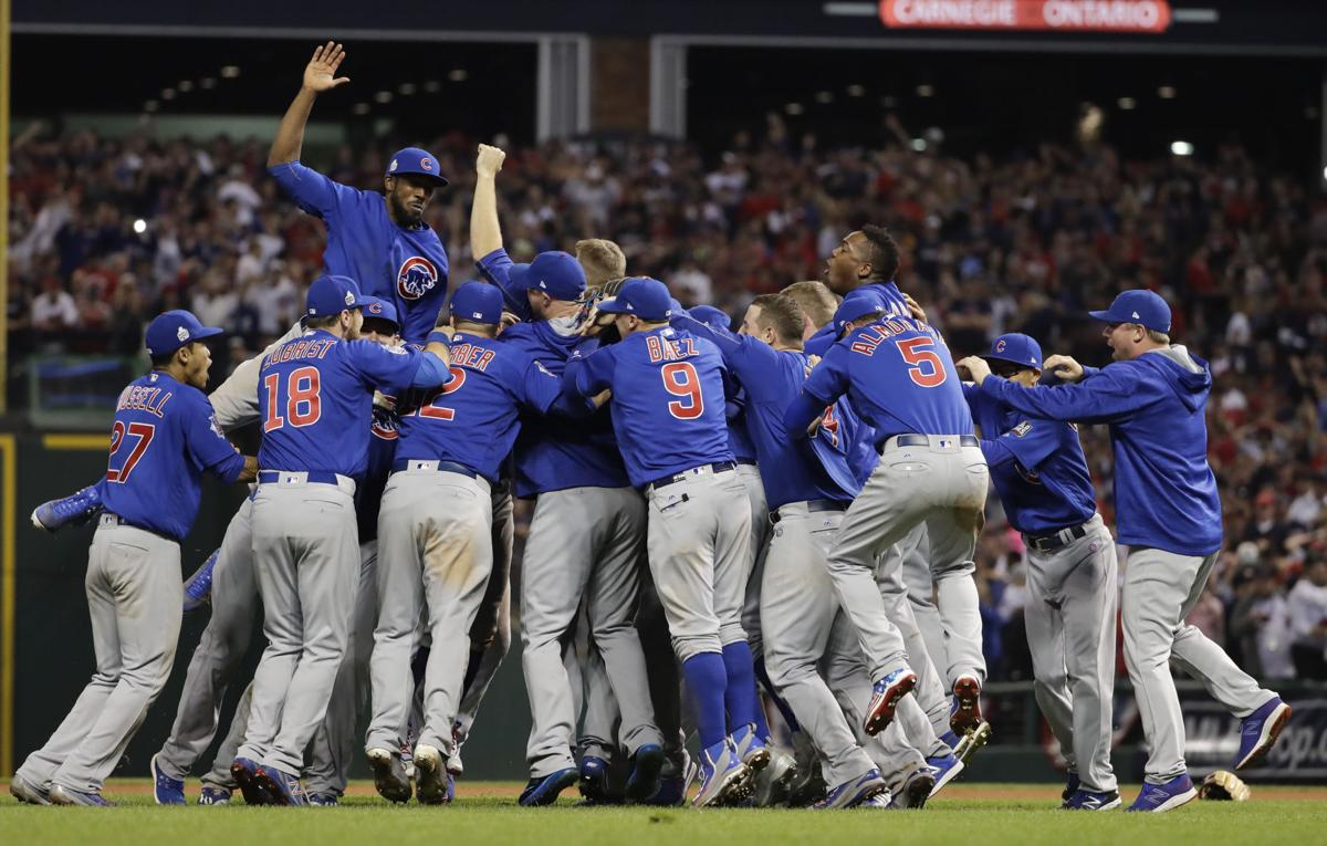 Image result for cubs win world series
