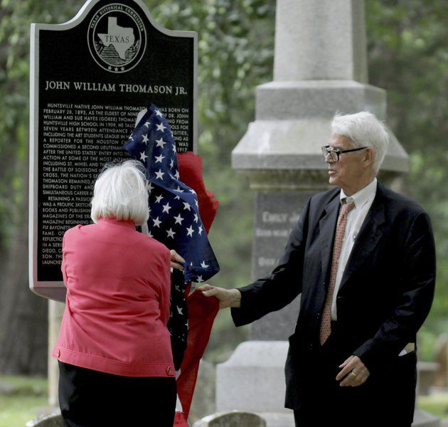 Local war hero honored with historic marker