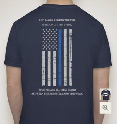 9784cd1f0 T-shirts on sale to support fallen Dallas officers | Local News ...