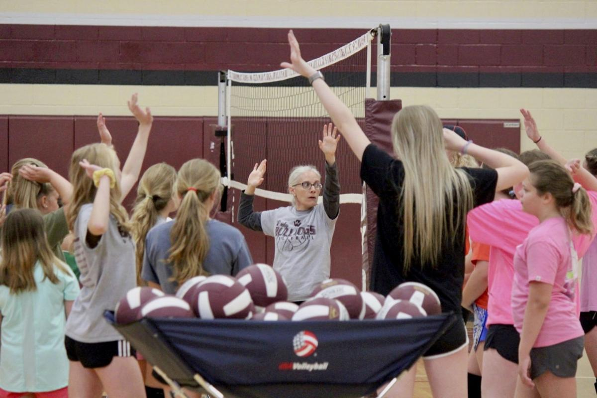 Lady Dogs offer chance to gear up for volleyball season