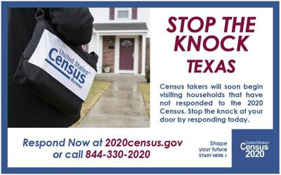 Census takers to start visiting non-responding households in Walker County