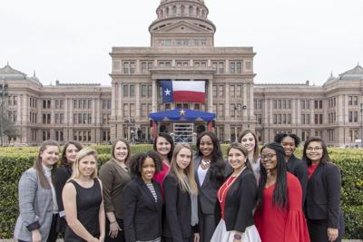 Bearkats attend Governor's inauguration