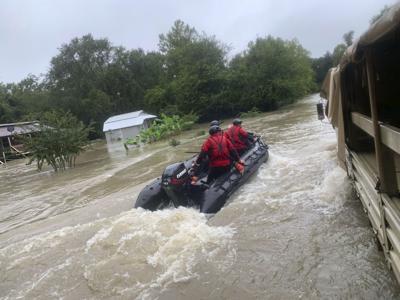 Devastation in Southeast Texas