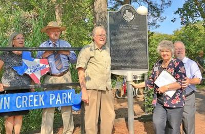 Seven Hills marker dedication