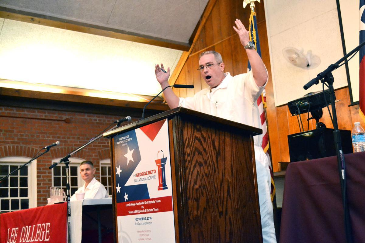 Inmates edge Aggies in first George Beto Invitational Debate