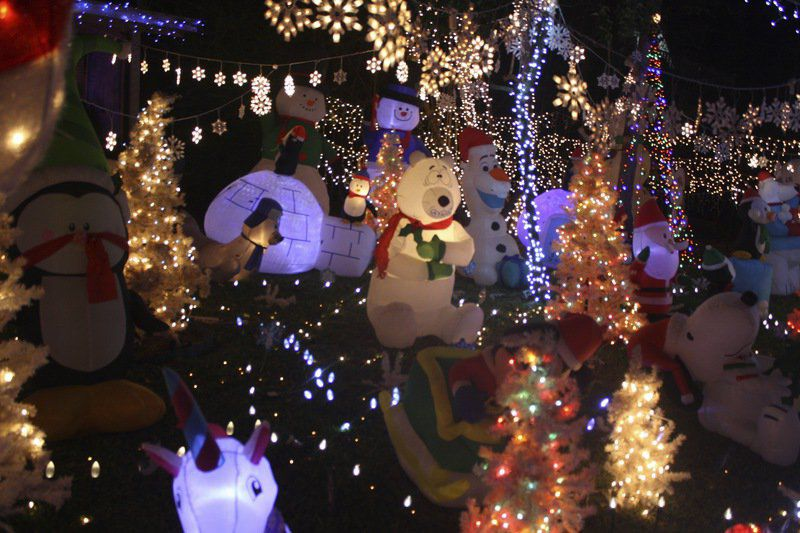 Local resident creates Christmas wonderland