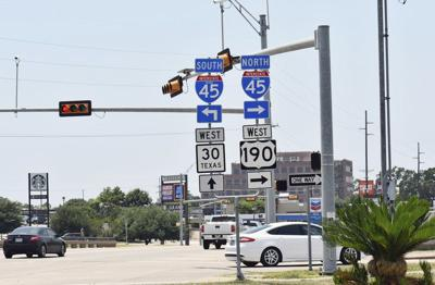 txdot gives update on i 45 expansion project local news