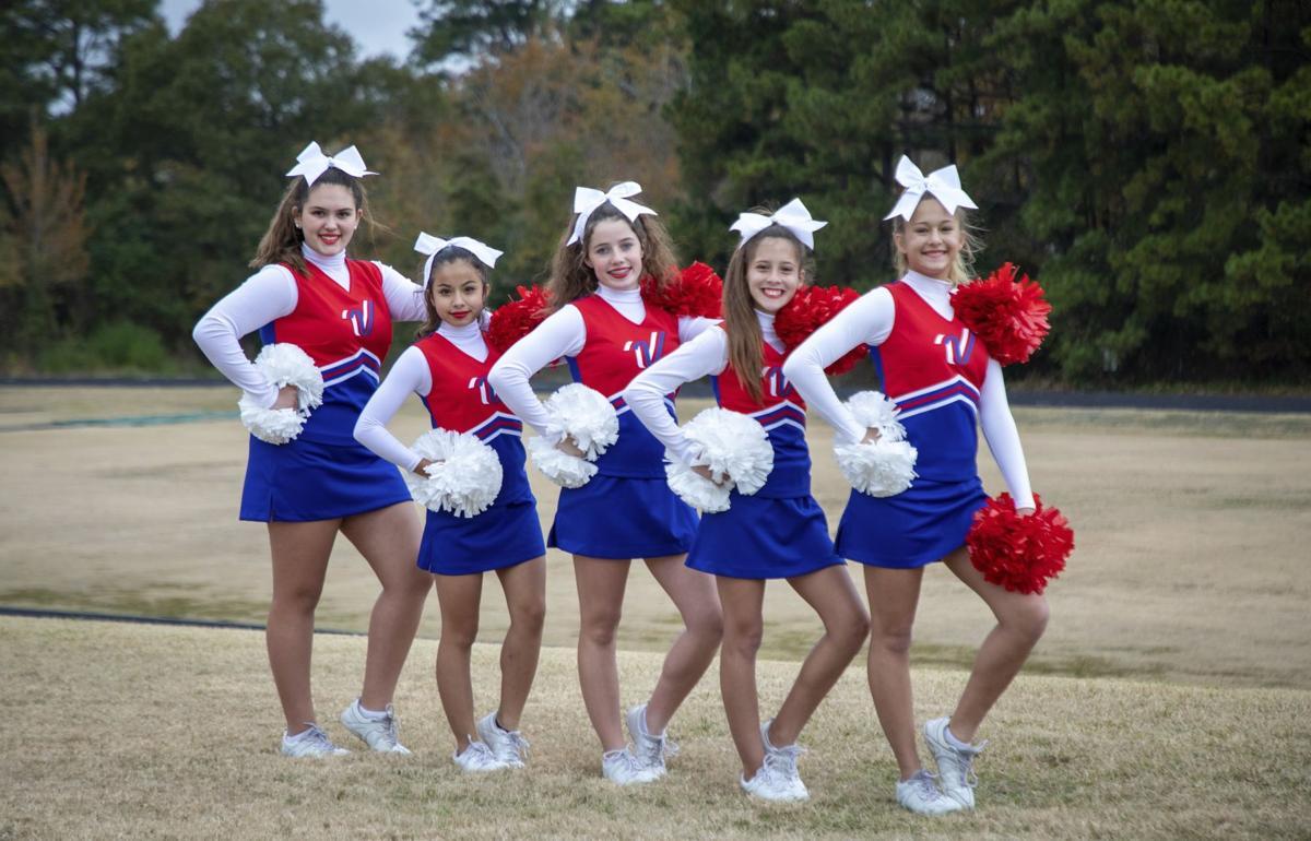 Mance Park cheerleaders perform at Disney World