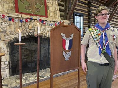 Oberg earns rank of Eagle Scout