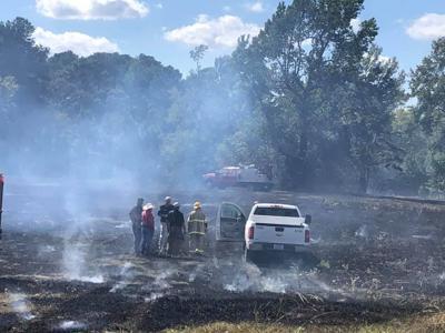 Dodge grass fire
