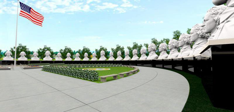 Plans moving forward to construct a President's Park in Huntsville