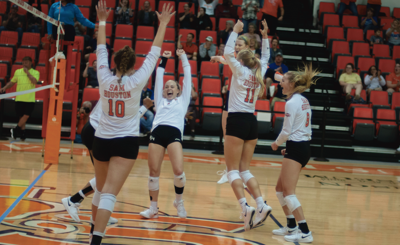shsu volleyball