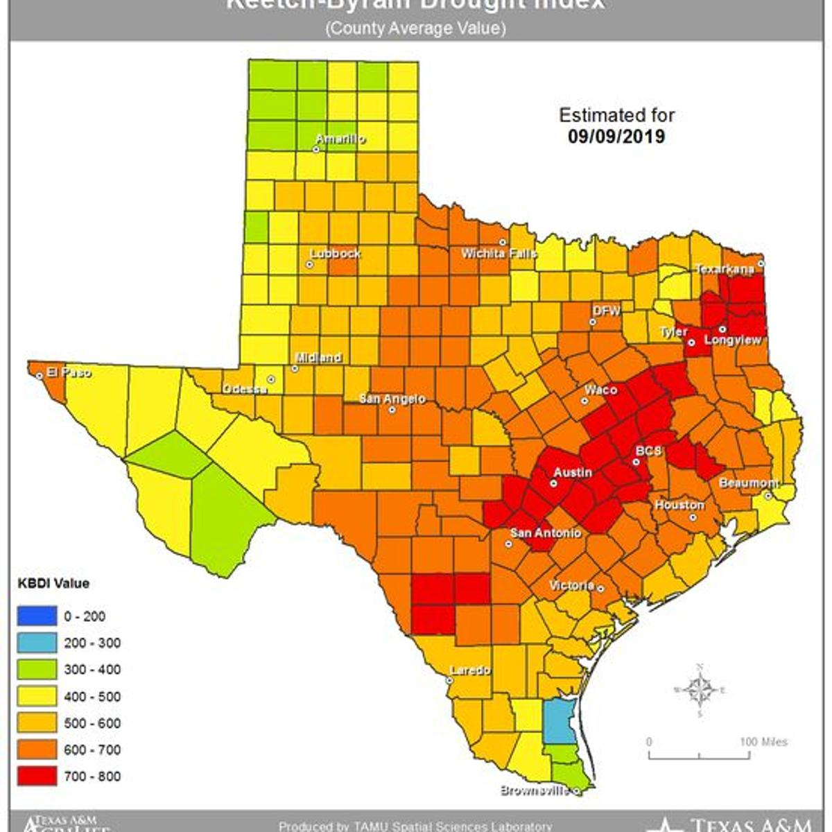 Much Of Southeast Texas Facing Wildfire Risks Local News