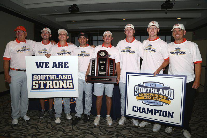 sam houston state men u0026 39 s golf team headed to oklahoma