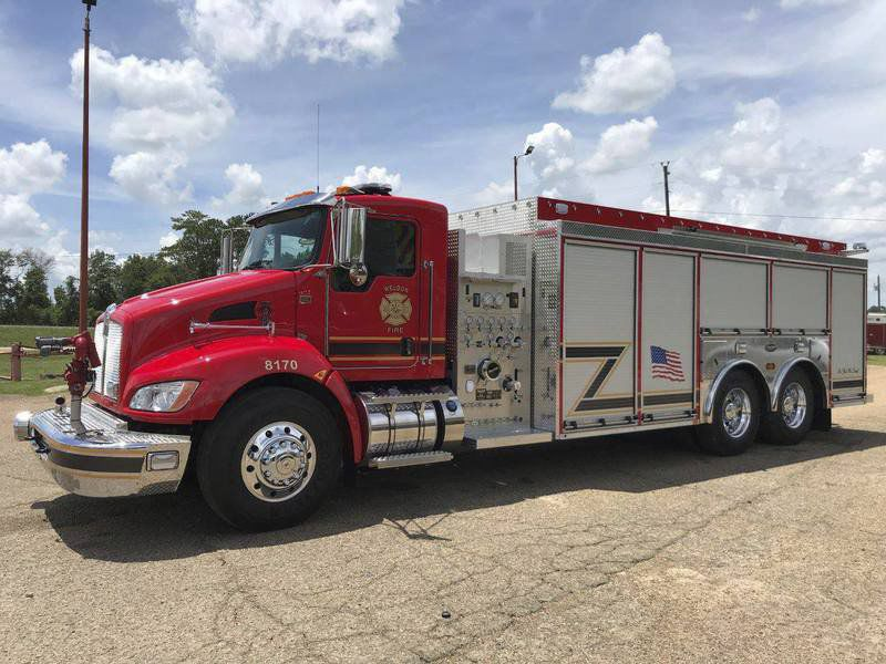 Weldon VFD increases water capacity with new fleet addition