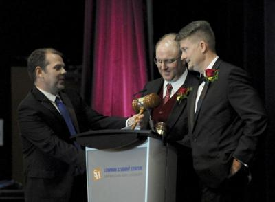 Wharton installed as chairman at chamber gala
