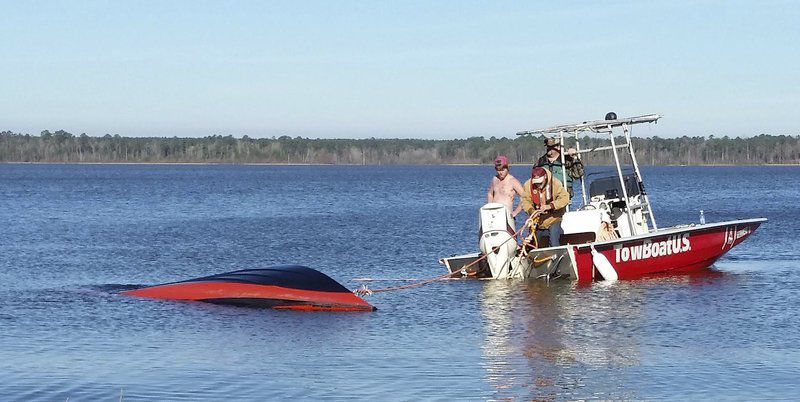 OUTDOORS: Anglers fight for survival after boat sinks in tournament