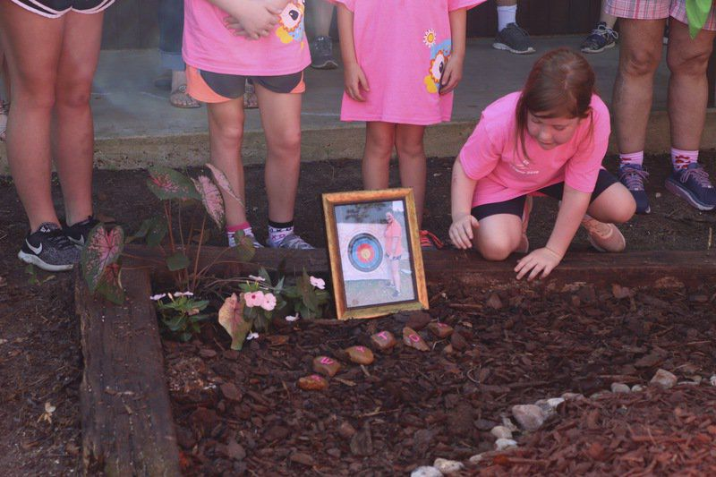 Local Girl Scouts pay tribute to Irwin family in ceremony