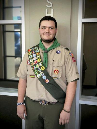 Rebstock earns the rank of Eagle Scout