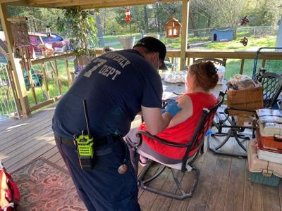 New Waverly fire fighters stepping up to vaccinate the homebound and community