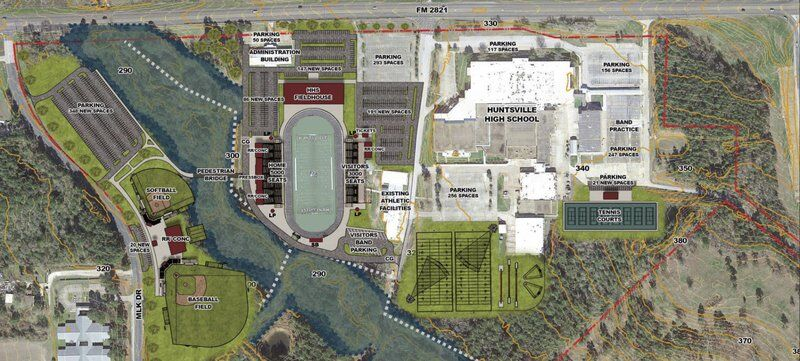 $35M stadium could be included in Huntsville ISD bond proposal