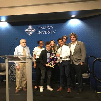 SHSU Ethics Team strives for more than a moral victory