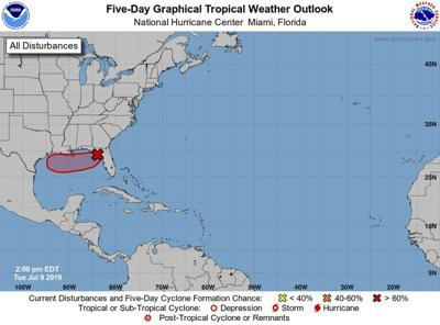 Tropical system could hit Texas