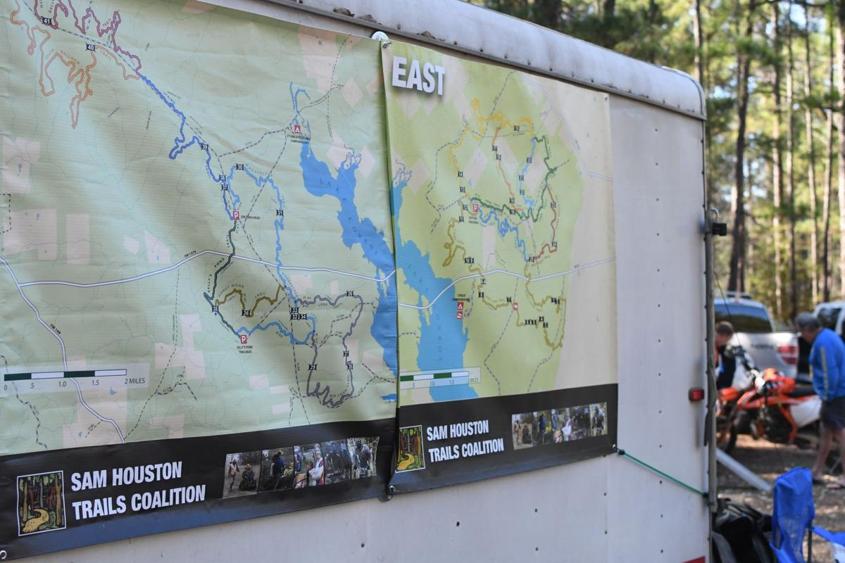 Rebuilding trails in the Sam Houston National Forest