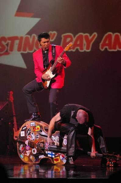 Sting Ray Anthony brings '50s and '60s show to Old Town Theatre