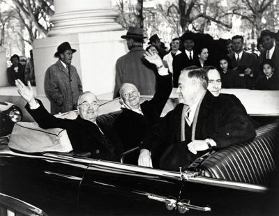 Truman transfers power to Ike