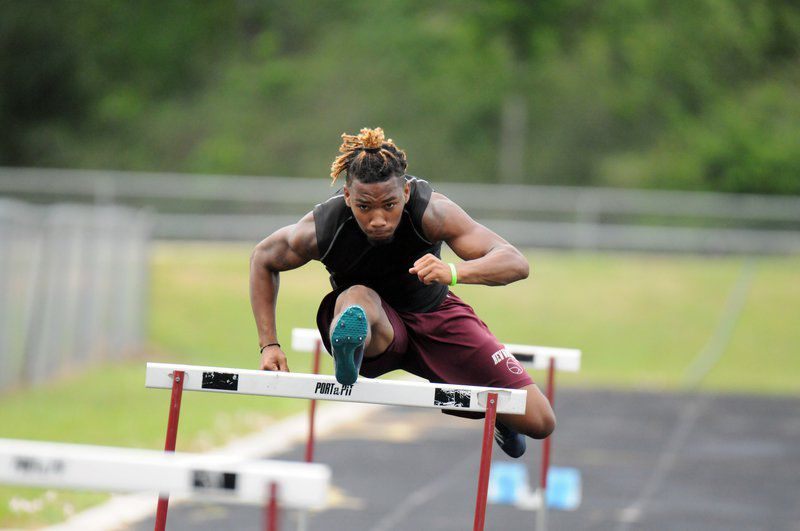 Pray ready to run and jump in four events at state meet