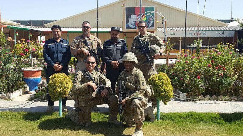 From Afghanistan war veteran to educator