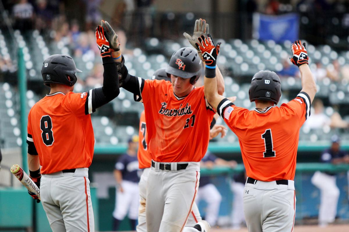 Bearkats beat new orleans 7 1 advance to southland tournament title game