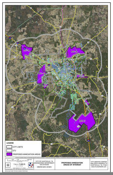 Huntsville agrees to settlement on annexation suit