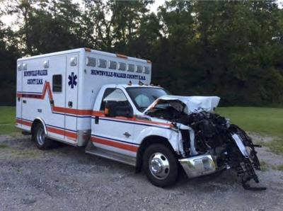 County commissioners move forward with replacing wrecked ambulance
