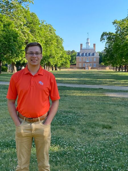 Student's internship carries-on a time-honored skill