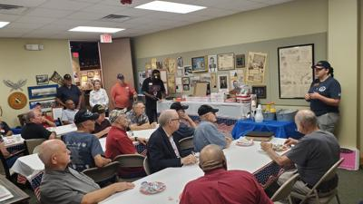 Local veterans share bond during monthly breakfast