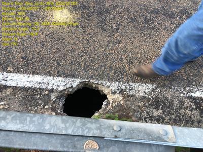 Dangerous Pothole Repaired In Southwest Walker County News Itemonline Com