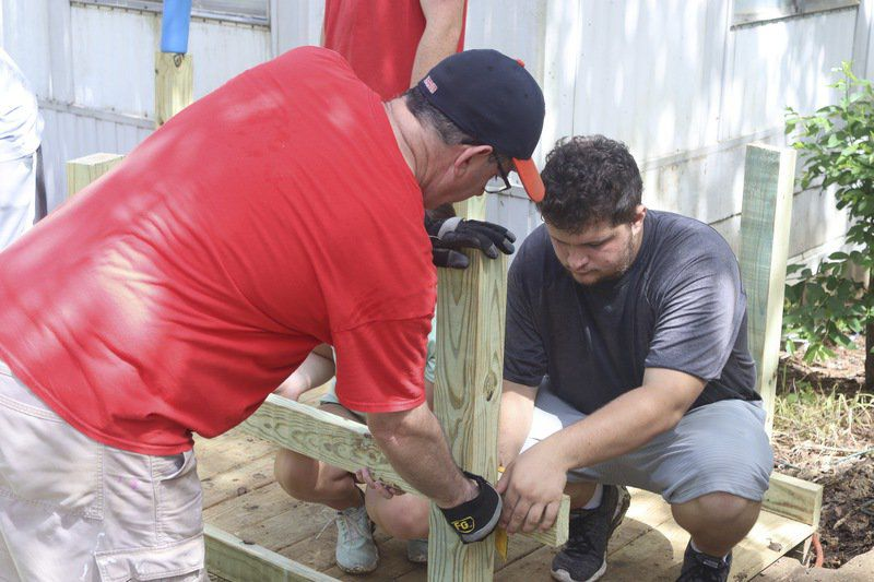 Mission groups help remodel houses for those in need across Huntsville